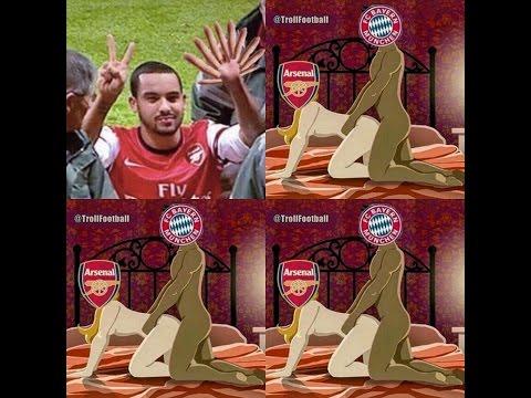 Arsenal Vs Bayern Munich 10-2 #Itspeakkkk