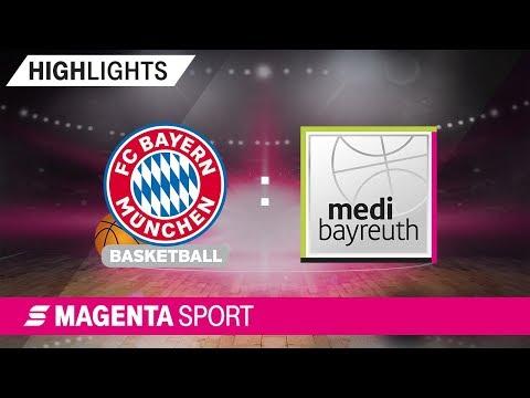FC Bayern Basketball – medi bayreuth | 8. Spieltag, 19/20 | MAGENTA SPORT