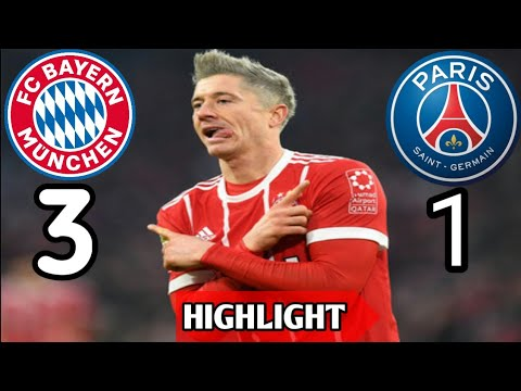 3-1 Highlight Bayern Munchen vs PSG (06-12-2017)