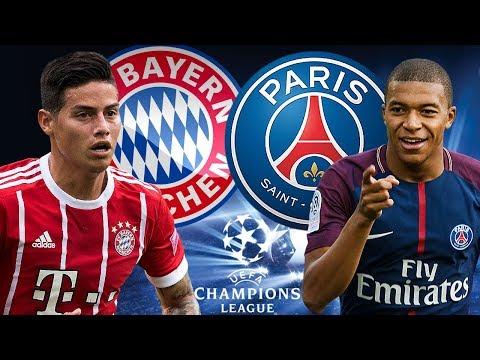 FC BAYERN MÜNCHEN – PARIS SG 3:1 05.12.17 Champions League