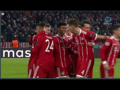 Bayern Munich vs PSG 3-1 Goals & Highlights UCL 2017