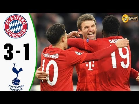 Bayern Munich vs Tottenham 3 1 Highlights & Goals 2019