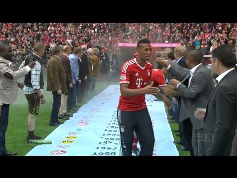 Bayern Munich Bayern Munich Celebrations 2013 HD