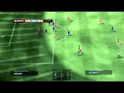 Fifa 2009 – Real Madrid vs Bayern Munchen – Gameplay
