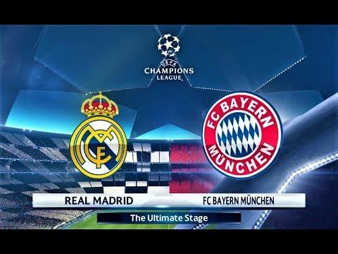 PES 2018 | Real Madrid vs Bayern Munchen | UEFA Champions League Final | Gameplay PC