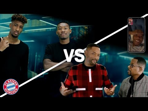 Bad boys for life vs. Stern des Südens | Alaba & Coman sing with Will Smith & Martin Lawrence