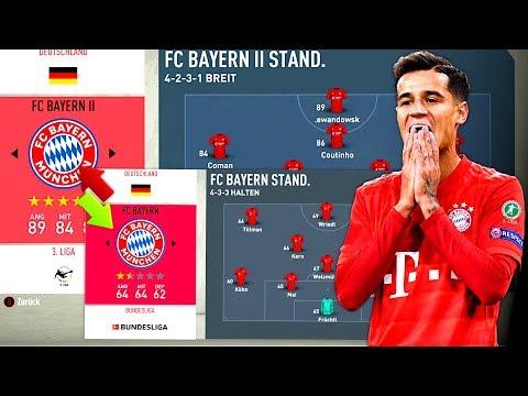 WAS WENN FC BAYERN 1. & 2. MANNSCHAFT TAUSCHT ??! 🧪🥼 FIFA 20 Karrieremodus Experiment