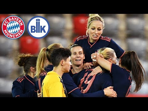 FCB Women proceed to Quarter-Finals | FC Bayern vs. BIIK-Kazygurt | Full Game | Round of 16 – UWCL