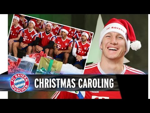 FC Bayern wishes you a merry Christmas