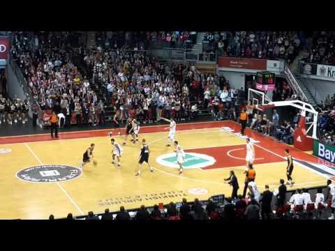 Audi Dome Basketball Bayern München vs. Milano
