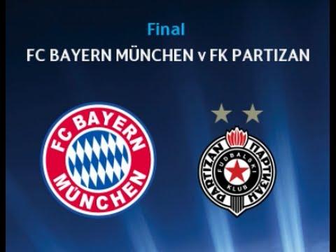 PES 2015   FINAL FC Bayern München   FK PARTIZAN