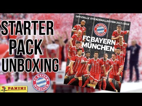 FC BAYERN MÜNCHEN 2018 STARTER PACK Unboxing