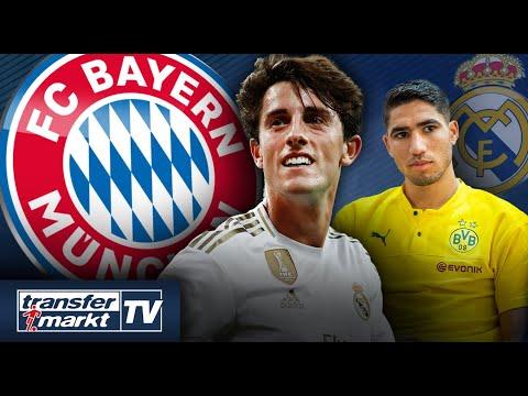 FC Bayern vor Verpflichtung von Odriozola – Zidane plant mit Hakimi | TRANSFERMARKT