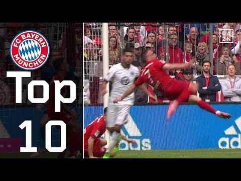 10 Jahre Franck Ribery beim FC Bayern München – seine Top 10 Tore