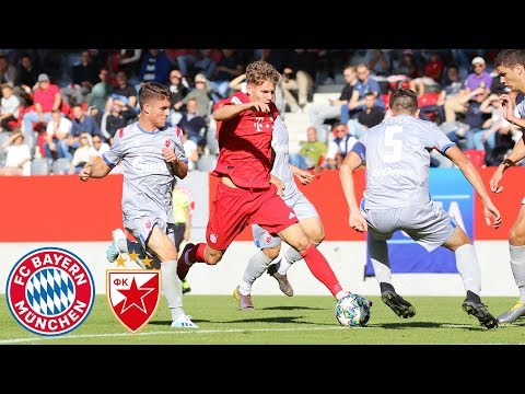 U19 fails to convert chances | FC Bayern vs. Red Star Belgrade 0-0 | Highlights – UEFA Youth League