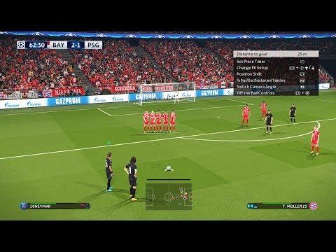 PES 2018 | Bayern Munich vs Paris Saint Germain [PSG] | UEFA Champions League (UCL) | Gameplay PC