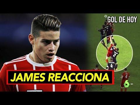¿Robo en el Bayern vs Real? I Así reaccionó James tras el partido