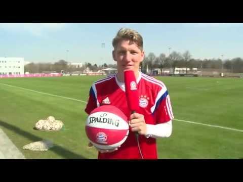 Playoff-Wünsche der FC Bayern Fußballer für die Basketballer