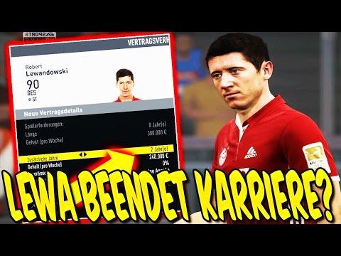 FIFA 17: OMG! LEWANDOWSKI beendet KARRIERE?? – KARRIEREMODUS FC BAYERN GAMEPLAY (DEUTSCH) #18