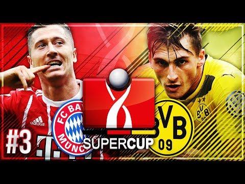 SUPERCUP FINALE 🏆 Neuzugang VERLETZT & neuer STÜRMER!! 🔥🔥 – FIFA 18 FC Bayern Karriere #3