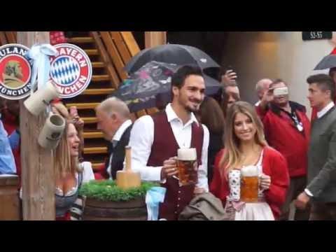 FC Bayern Oktoberfest Käfer Wiesnschänke 2016