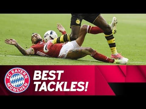 Best FC Bayern Tackles w/ Vidal, Hummels, Lahm & Martínez | 2016/17 Season