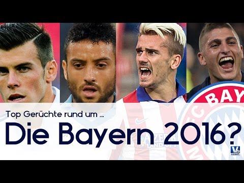 BALE, GRIEZMANN, VERRATTI, ANDERSON – FC BAYERN 2016? – Fussball & Transfer Talk |