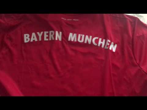 Bayern Munich 17/18 Home Jersey