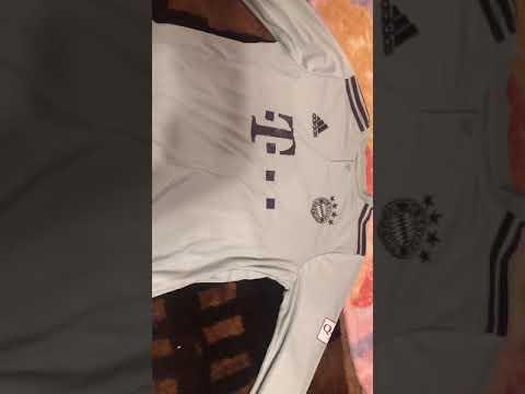 Minejerseys 18-19 Bayern Munich Away Mint Green Long Sleeve Jersey Shirt Unboxing Review