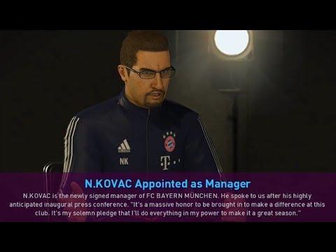 PES 2019 FC Bayern München Manager Kit v1.0