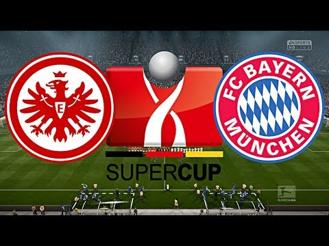 EINTRACHT FRANKFURT vs. FC BAYERN MÜNCHEN   DFL SUPERCUP 2018