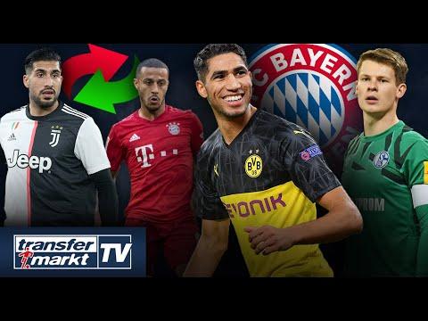 Hakimi im Bayern-Visier, Juve will Thiago und Nübel wird Neuer-Nachfolger | TRANSFERMARKT