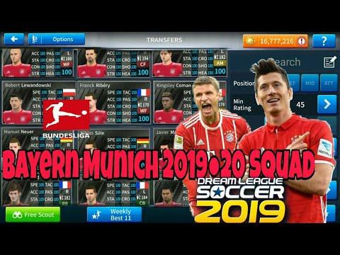 How to get Bayern Munich 2019-20 squad in Dream league 19| München in Dream league19|sabi