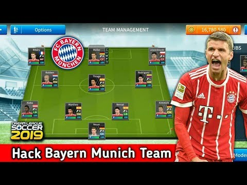 How to hack FC Bayern Munich team 2019★All players 100★Dream League Soccer 2019