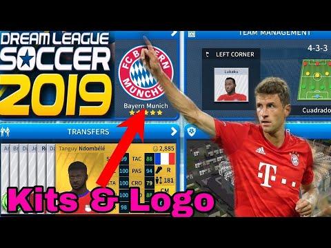 How To Make Bayern Munich Team Kits & Logo 2019/2020 | Dream League Soccer 2019