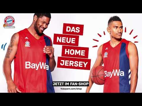 FC Bayern Basketball Trikotvorstellung Saison 2018/19