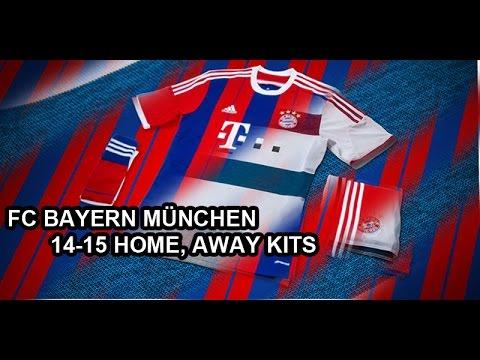 FC BAYERN MÜNCHEN 14 15 HOME, AWAY KITS