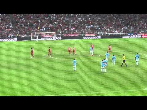 01.08.2013 Audi Cup 2013 – Elfmeter LIVE Thomas Müller FC Bayern gegen Manchester City
