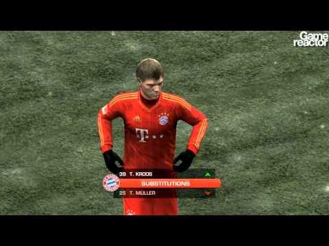 FIFA 12 gameplay Bayern Munich – Werder Bremen