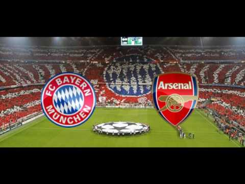 Fc Bayern Munchen vs Arsenal Live Stream  HD Champions League