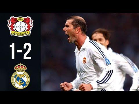 Bayer Leverkusen vs Real Madrid 1-2 – All Goals & Highlights UCL Final 2002 | 1080i HD