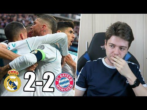 REACCIONANDO AL REAL MADRID 2-2 BAYERN MUNICH | Semifinal Champions League