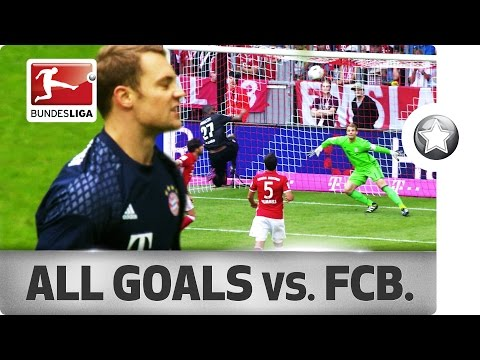 How to Beat Bayern's World-Class Defence – All Goals Conceded in 2016/17 So Far…