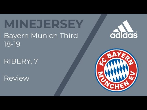 Minejerseys 18-19 Bayern Munich third (Player version) jersey Unboxing Review
