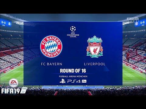 FIFA 19 | UCL 18/19 | FC Bayern Vs. Liverpool | 2nd Match