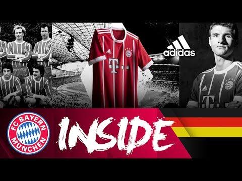 Stolze Vergangenheit. Starke Zukunft. Das neue Home-Trikot 2017/18 | Inside FC Bayern