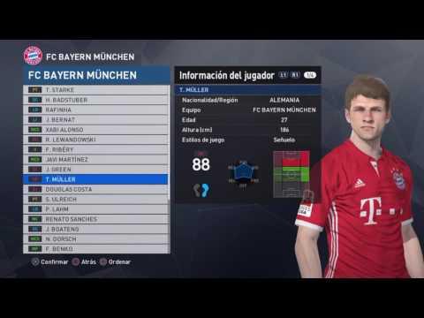 PES 2017:Bayern München
