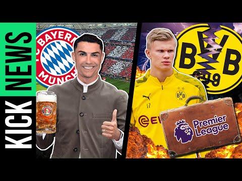 Ronaldo bald beim FC Bayern? Das große ABER beim Haaland-Transfer! | KickNews