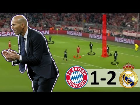 How Zidane COMPLETELY Turned the Game Around – Bayern Munich vs Real Madrid 1-2 Tactical Analysis
