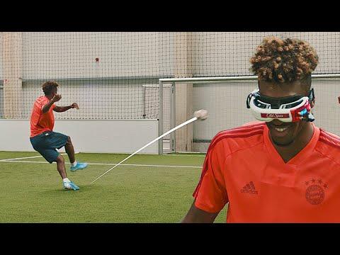 FC Bayern x freekickerz | Crazy Challenge feat. Coman, Martinez & Davies